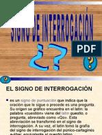 DIAPOSITIVAS SIGNO DE INTERROGACIÓN