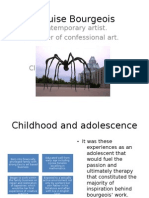 Louise Bourgeois presentation submission