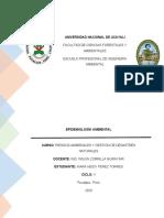 Informe de Riesgos-epidemiología