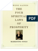 4 Spiritual Laws of Prosperity