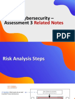 Cyber Security MIS607 - Assessment 3 Related Notes(1)