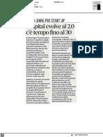 Ecapital evolve al 2.0, c'è tempo fino al 30 aprile - Il Corriere Adriatico del 19 aprile 2021
