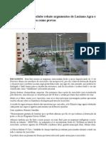 Presidente do Aeroclube da Paraíba rebate os argumentos mentirosos de Luciano Agra