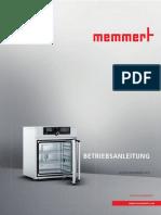 MANUAL MEMMERT BA-HCP-DE-D39302