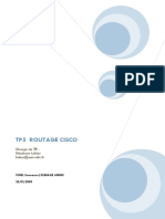Tp5 Routage Cisco