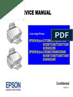 Epson Stylus Cx7300, Cx8300 Series Service Manual