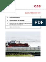 ÖBB Qualitätsbericht 2017