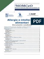 Dossier Allergie Alimentari