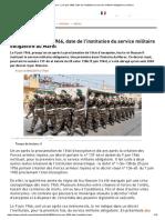 Histoire_ Le 9 Juin 1966, Date de l'Institution Du Service Militaire Obligatoire Au Maroc
