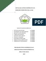 ASKEP SINDROME NEFROTIK PADA ANAK KLPK 3