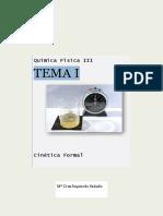 Teoría Parte de Cinética y Electroquímica, Exámenes y Pecs Anteriores Resueltos, Glosario y Tutorias Con Ejercicios Parte Cinetica (1)