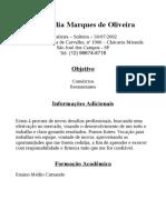 Ana Dália Marques de Oliveira