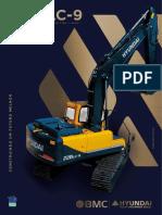 Folheto Técnico Escavadeira R220LC-9 Rev7.2020