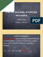 330291681 MI Lucrul Mecanic Si Energia Mecanica Ppt