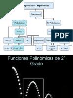 Funciones de 2º Grado Matematica(jessica Sanchez)