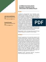2014 - MESSIAS & PESSOTTO - A Vivência da Focalização Segundo a Perspectiva de Graduandos em Administração
