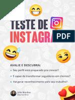 Teste de Instagram - Júlia Munhoz