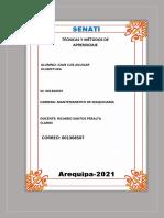 Entregable Nº1 de Tecnicas y Metodos de Estudio-fases Del Aprendisaje Investigativo