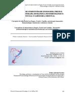 Parreira (2014) Concepções de subjetividade em Rogers, Freud e Gendlin- psicoterapia humanista fenomenológico-existencial e sabedoria oriental