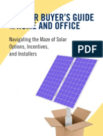 Solar Buyer's Guide excerpt