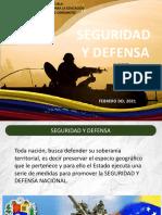 defensa y soberania