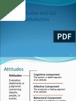 Attitudes and Job Satisfaction (3)