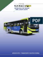 Catalogo Peças Carroceria Caio Apache Vip IV - Transporte Coletivo Itatiba - 32569-32570