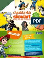 Čitko - čitateľský klub katalóg jar/leto 2021