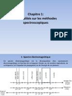 Chapitre 1 Généralités 2017 Spectroo