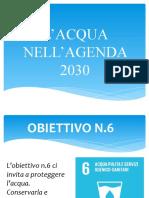 L'ACQUA NELL'AGENDA 2030 gabriele