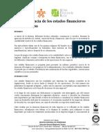 1. LA IMPORTANCIA DE ESTADOS FINANCIEROS