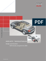 SSP 254 Audi A4 2001 Technical Features (1)