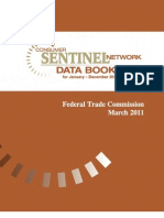 FTC Annual Report on Consumer Fraud