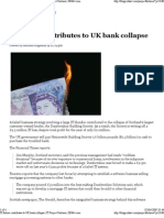 IT failure contributes to UK Bank collapse