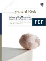 Degrees of Risk - Defining Risk Management Framework for Climate Security - Mabey, Gulledge et al (E3G 11)