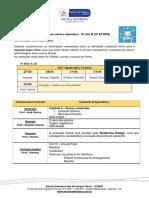 9ºB - Atividades Avaliativas e Cronograma (2ª Etapa)