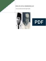 INDONESIA DI AWAL KEMERDEKAAN