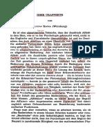 Ueber Uraffekte (1950) G. Kafka