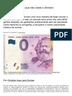 Por uma esquerda que não odeie o dinheiro – Blog da Boitempo