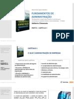 Capítulo 1 - Fundamentos de Administração