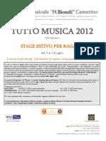 tutto musica 2012