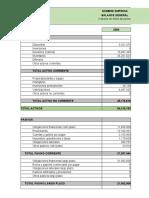 Primer Taller Análisis Financiero, daniel romero