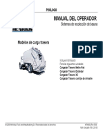 MANUAL DEL OPERADOR Sistemas de Recolección de Basura
