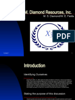 M. Diamond Resources, Inc.