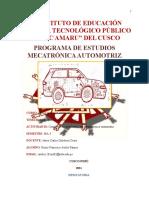 1. Cuestionario de Dibujo Mecatronico Automotriz.