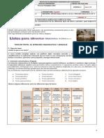 Guía No.10 Español Octavo Tipos de Texto y Párrafos