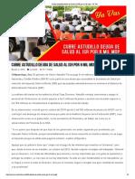 02-07-2019 Cubre Astudillo Deuda de Salud Al ISR Por 8 Mil Mdp