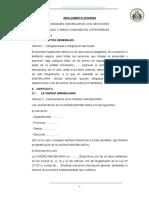 REGLAMENTO INTERNO DECLARATORIA DE FABRICA E INDEPENDIZACION