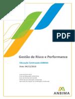 Apostila gestão de riscos e performance