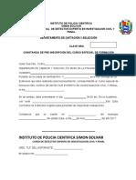 constancia de pre-inscripccion y requisitos DE ASPIRANTES